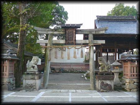 両社神社(大津市坂本)